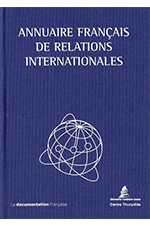Annuaire français de relations internationale - AFRI